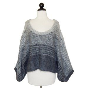 Bird Juicy Couture Mohair Ombre Dolman Sweater P S